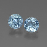 thumb image of 1.7ct Round Facet Swiss Blue Topaz (ID: 444692)