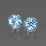 thumb image of 1.9ct Round Facet Swiss Blue Topaz (ID: 444697)