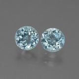 thumb image of 2.3ct Round Facet Swiss Blue Topaz (ID: 444738)
