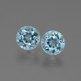 thumb image of 2.1ct Round Facet Swiss Blue Topaz (ID: 444740)