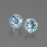 thumb image of 2ct Round Facet Swiss Blue Topaz (ID: 444741)