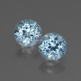thumb image of 1.9ct Round Facet Swiss Blue Topaz (ID: 444784)