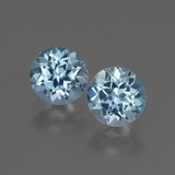 thumb image of 1.9ct Round Facet Swiss Blue Topaz (ID: 444851)
