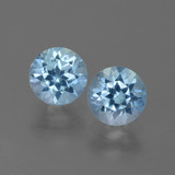 thumb image of 2.2ct Round Facet Swiss Blue Topaz (ID: 444898)