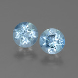 thumb image of 1.9ct Round Facet Swiss Blue Topaz (ID: 444944)