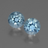 thumb image of 2.2ct Round Facet Swiss Blue Topaz (ID: 444984)
