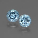 thumb image of 1.7ct Round Facet Swiss Blue Topaz (ID: 444993)