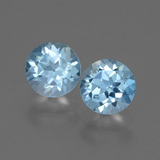 thumb image of 2.2ct Round Facet Swiss Blue Topaz (ID: 445014)