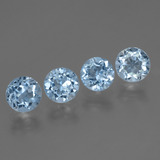 thumb image of 4.1ct Round Facet Swiss Blue Topaz (ID: 445032)