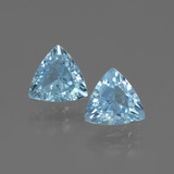 thumb image of 2.5ct Trillion Facet Swiss Blue Topaz (ID: 445636)
