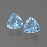 thumb image of 1.4ct Trillion Facet Swiss Blue Topaz (ID: 445700)