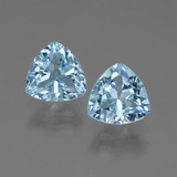 thumb image of 3ct Trillion Facet Swiss Blue Topaz (ID: 445874)