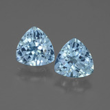 thumb image of 2.9ct Trillion Facet Swiss Blue Topaz (ID: 445954)