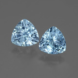 thumb image of 2.8ct Trillion Facet Swiss Blue Topaz (ID: 445955)