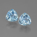 thumb image of 3ct Trillion Facet Swiss Blue Topaz (ID: 446019)