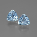 thumb image of 2.9ct Trillion Facet Swiss Blue Topaz (ID: 446052)