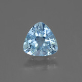 thumb image of 1ct Trillion Facet Swiss Blue Topaz (ID: 446135)