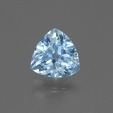 thumb image of 1.3ct Trillion Facet Swiss Blue Topaz (ID: 446137)