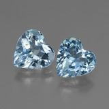 thumb image of 5.7ct Heart Facet Swiss Blue Topaz (ID: 447994)