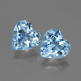 thumb image of 6ct Heart Facet Swiss Blue Topaz (ID: 447997)