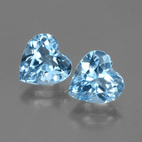 thumb image of 6.3ct Heart Facet Swiss Blue Topaz (ID: 447998)