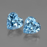thumb image of 6.3ct Heart Facet Swiss Blue Topaz (ID: 448000)