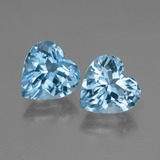 thumb image of 6.2ct Heart Facet Swiss Blue Topaz (ID: 448005)