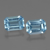 thumb image of 2.1ct Octagon Step Cut Swiss Blue Topaz (ID: 448023)