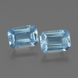 thumb image of 2.1ct Octagon Step Cut Swiss Blue Topaz (ID: 448026)