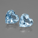 thumb image of 5.6ct Heart Facet Swiss Blue Topaz (ID: 448043)