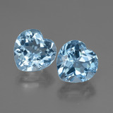 thumb image of 6.8ct Heart Facet Swiss Blue Topaz (ID: 448045)