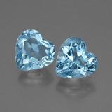 thumb image of 6.5ct Heart Facet Swiss Blue Topaz (ID: 448046)