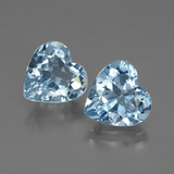 thumb image of 5.6ct Heart Facet Swiss Blue Topaz (ID: 448051)