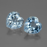 thumb image of 6.2ct Heart Facet Swiss Blue Topaz (ID: 448053)