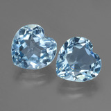thumb image of 6.2ct Heart Facet Swiss Blue Topaz (ID: 448117)