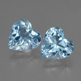 thumb image of 5.6ct Heart Facet Swiss Blue Topaz (ID: 448118)