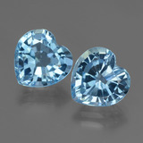 thumb image of 6.1ct Heart Facet Swiss Blue Topaz (ID: 448120)