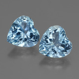 thumb image of 5.8ct Heart Facet Swiss Blue Topaz (ID: 448121)