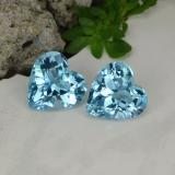 thumb image of 6.4ct Heart Facet Swiss Blue Topaz (ID: 448123)