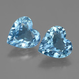 thumb image of 5.4ct Heart Facet Swiss Blue Topaz (ID: 448124)
