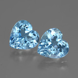 thumb image of 5.8ct Heart Facet Swiss Blue Topaz (ID: 448188)