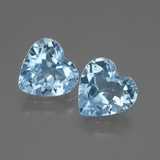 thumb image of 4.9ct Heart Facet Swiss Blue Topaz (ID: 448195)