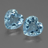 thumb image of 5.5ct Heart Facet Swiss Blue Topaz (ID: 448310)
