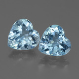 thumb image of 5.1ct Heart Facet Swiss Blue Topaz (ID: 448313)