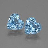 thumb image of 5.5ct Heart Facet Swiss Blue Topaz (ID: 448334)