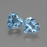 thumb image of 5.6ct Heart Facet Swiss Blue Topaz (ID: 448336)