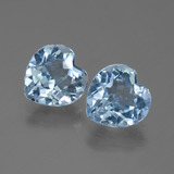 thumb image of 5.8ct Heart Facet Swiss Blue Topaz (ID: 448337)