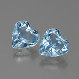 thumb image of 6.3ct Heart Facet Swiss Blue Topaz (ID: 448339)
