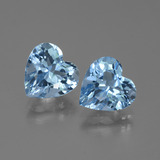 thumb image of 5.7ct Heart Facet Swiss Blue Topaz (ID: 448342)