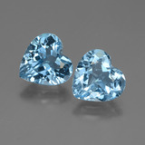 thumb image of 5.5ct Heart Facet Swiss Blue Topaz (ID: 448359)